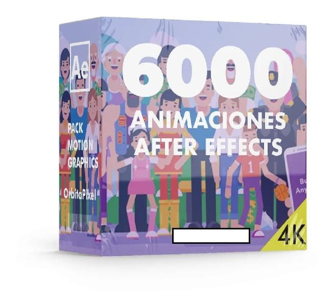 Proyecto editable personajes animados character