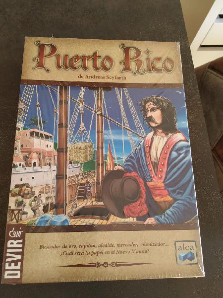 Puerto rico. juego de mesa