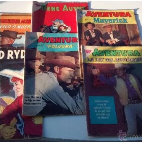 Revistas/cómic de vaqueros años 1962/63