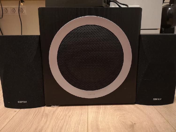 Sistema audio altavoces pc - edifier c3x