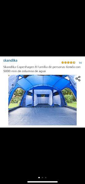 Tienda de campaña skandikan ccopenaghen 8