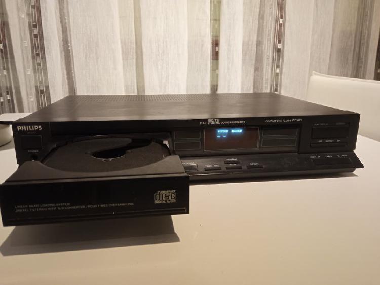 Reproductor hifi philips cd 471