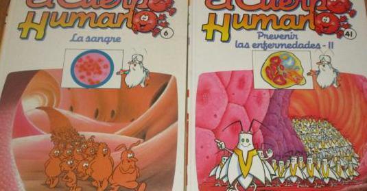2 libros erase una vez el cuerpo humano