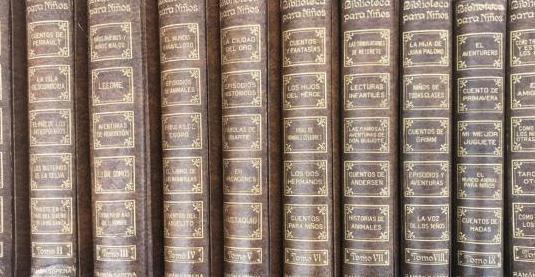 Biblioteca para niños. 10 vol. 1930