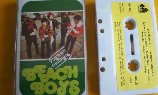 Beach boys (version original), (casete)
