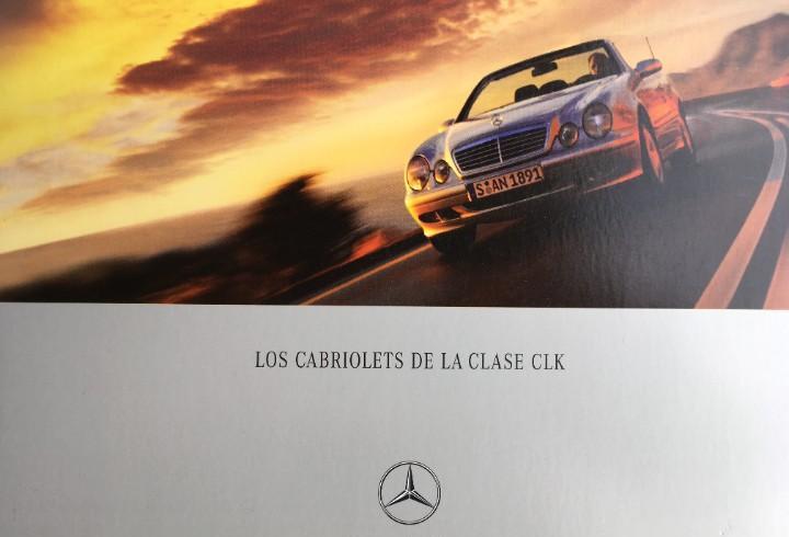 Catalogo los cabriolets de la clase clk (c208)