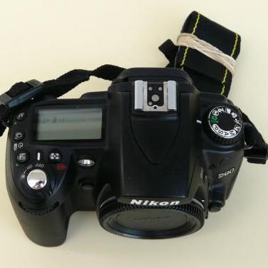 Cuerpo camara nikon d90 reflex digital