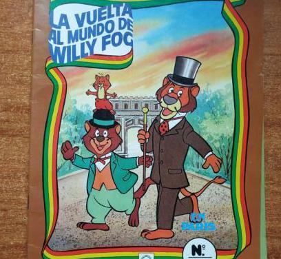 Comic 1984 willy fog