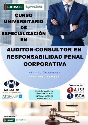 Curso de auditor-consultor en responsabilidad penal
