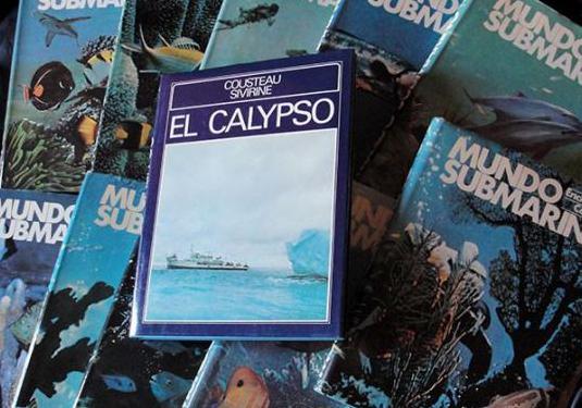 Enciclopedia mundo submarino el calypso -