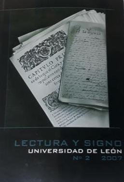Lectura y signo, 2