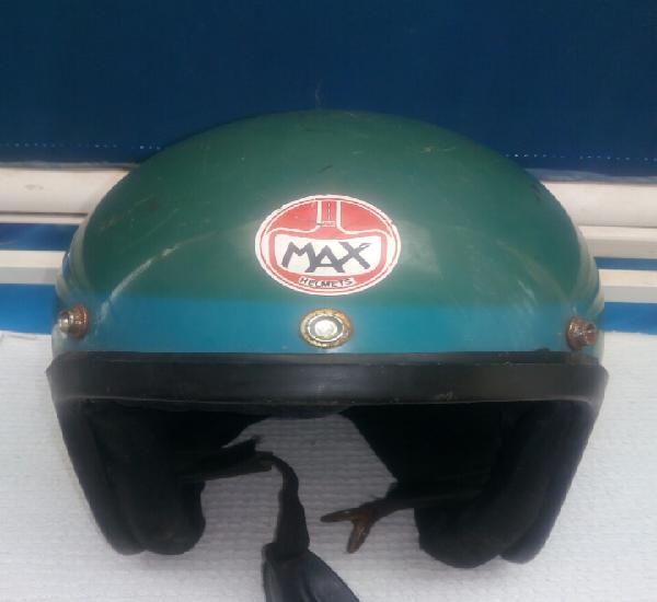 Max helmets,casco italiano de los años 70
