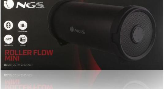 Ngs altavoz portatil bluetooth 10w - rollerflowmin