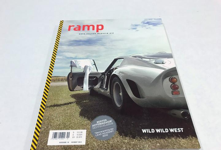 Rara revista ramp alemana de cultura del automóvil. ver