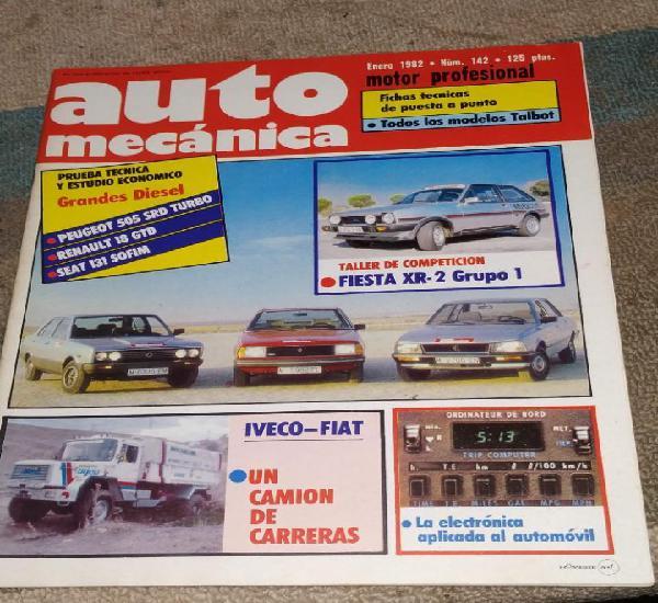 Revistas auto mecánica
