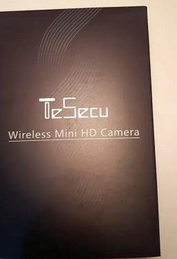 Videocámara vigilancia wifi hd miniespia