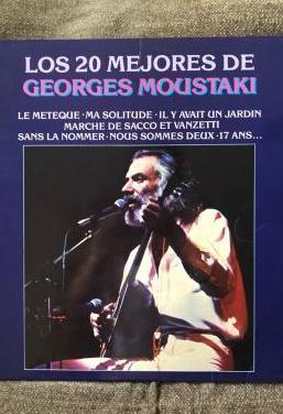 Vinilo, doble lp georges moustaki 1981