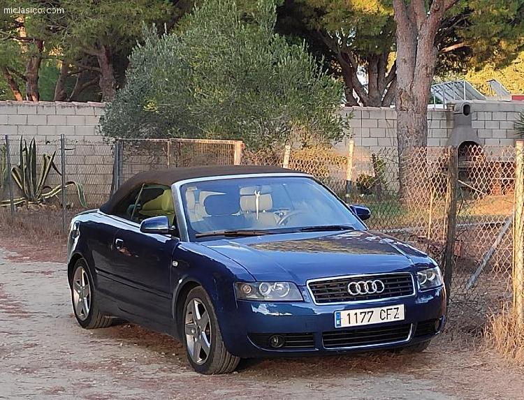 Audi a4 b6 cabrio 2.4 v6