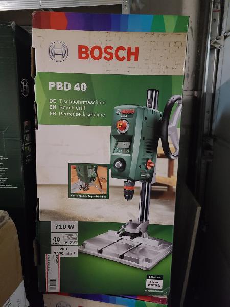 Bosch taladro de columna 710w