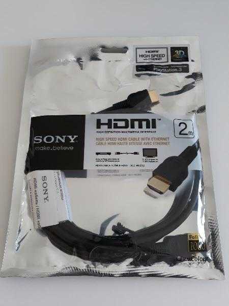 Cable hdmi sony