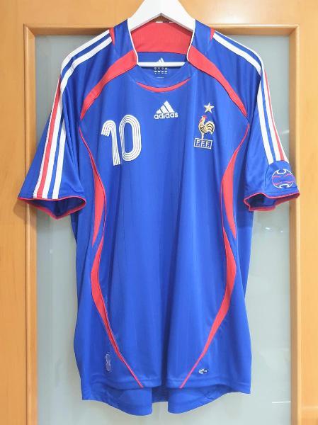 Francia mundial 2006. xl. zidane. perfecta