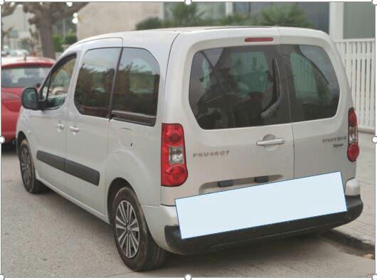 Peugeot partner 2008 en buen estado, contacto, paco: