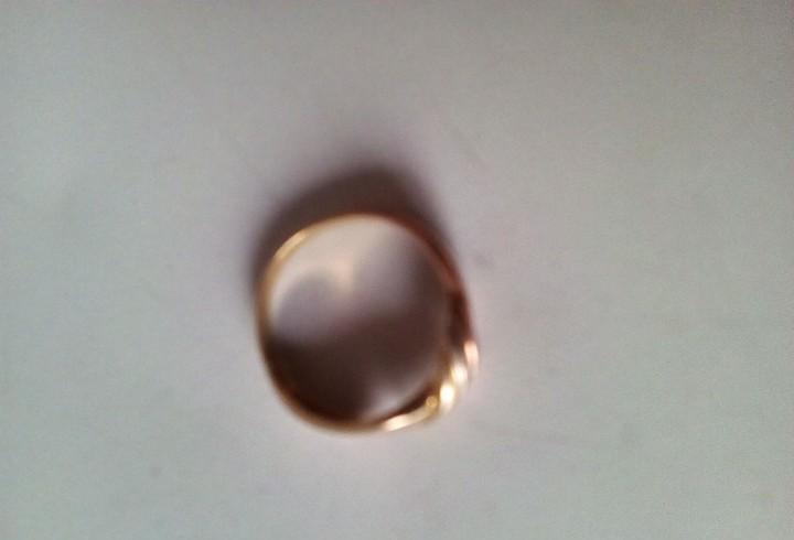 Anillo alianza de oro 18k de 2 centimetros de diametro y