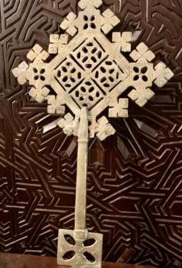 Antigua cruz copta etiope
