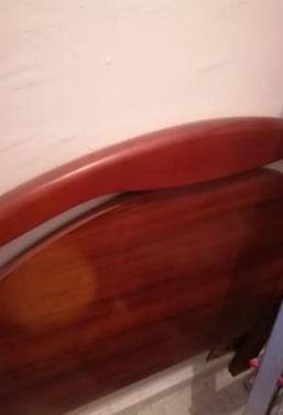 Cabecero de cama 80 cm, color cerezo