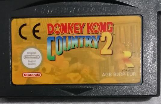 Donkey kong country 2 original game boy advance