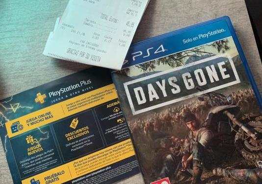 Juego ps4 playstation 4 days gone