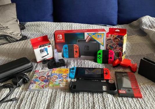 Nintendo switch juegos complementos