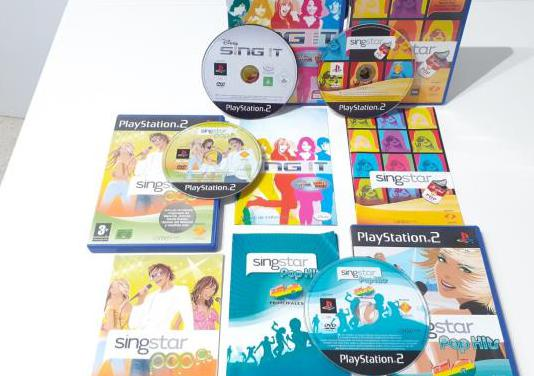 Pack sing star y sing it play station 2