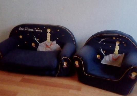 Sofa y sillon infantantil