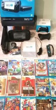 Wii u premium pack 32 g, 23 juegos