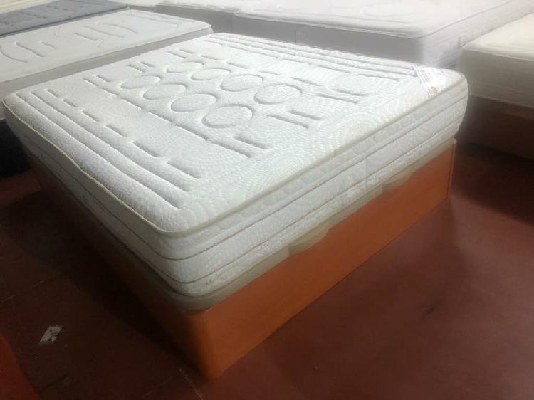 150x190 canapé madera cerezo granbox tapa3d (expos