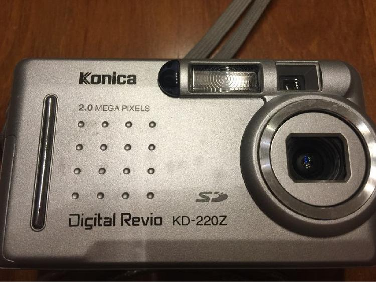 2 cámaras digitales