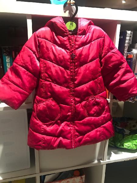 Abrigo , chaqueta niña