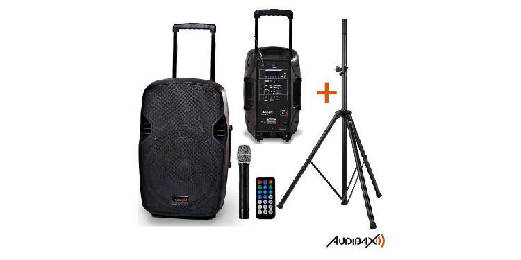 Audibax denver 10 altavoz portátil bluetooth con batería +