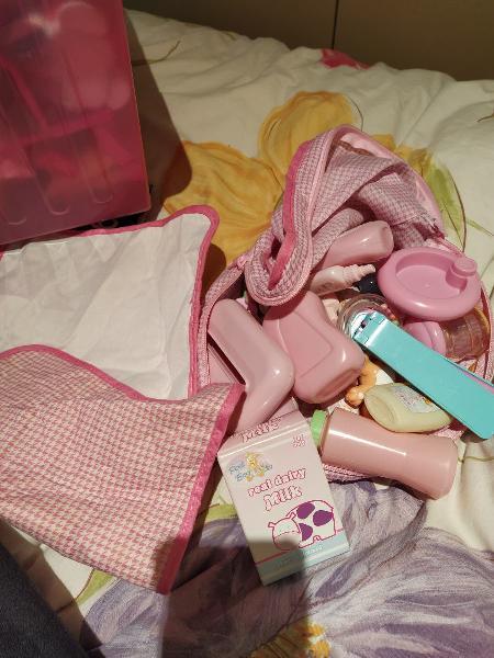 Bolsa accesorios muñecos bebé