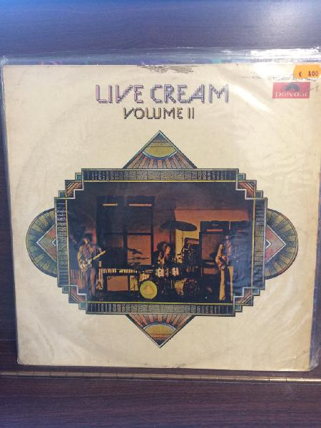 Cream. live cream vol. 2. españa. 8€.
