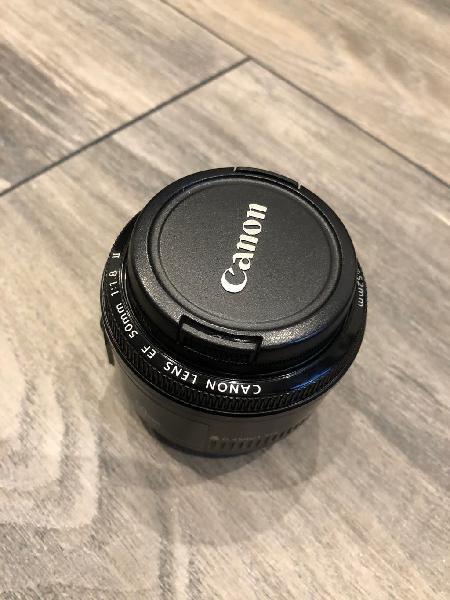 Canon ef 50 mm f1.8 como nuevo