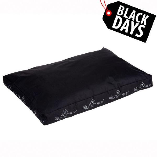 Colchón silhouette negro para perros