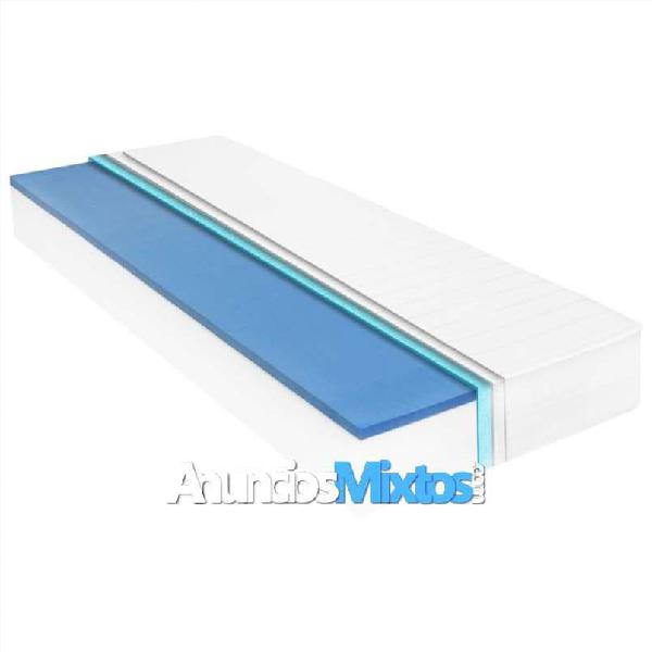 Colchón de espuma viscoelástica 18 cm 90x200 cm