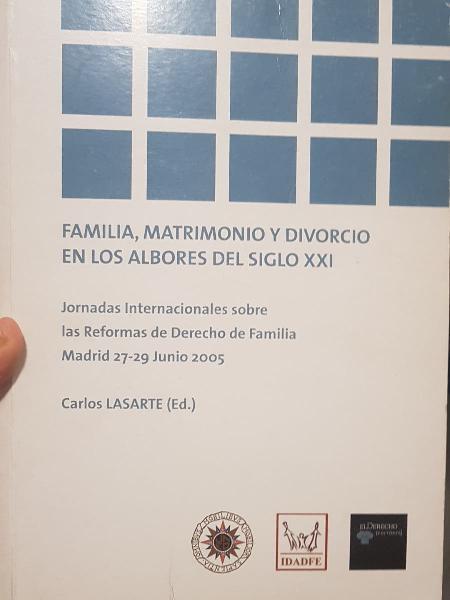 Familia, matrimonio y divorcio en los albores del