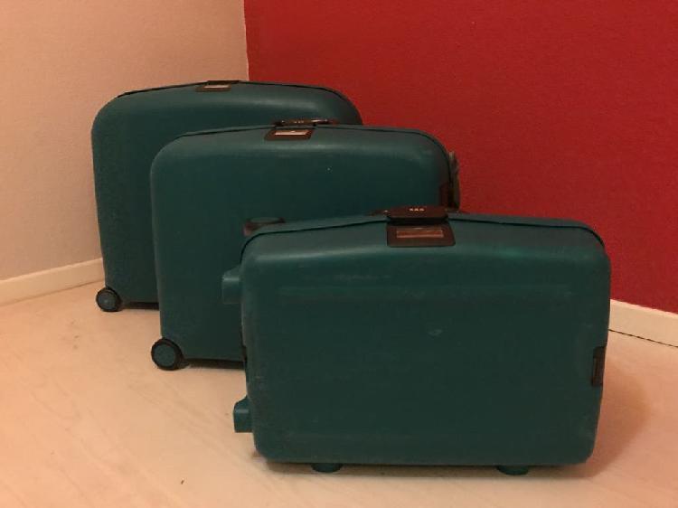 Juego 3 maletas rigidas