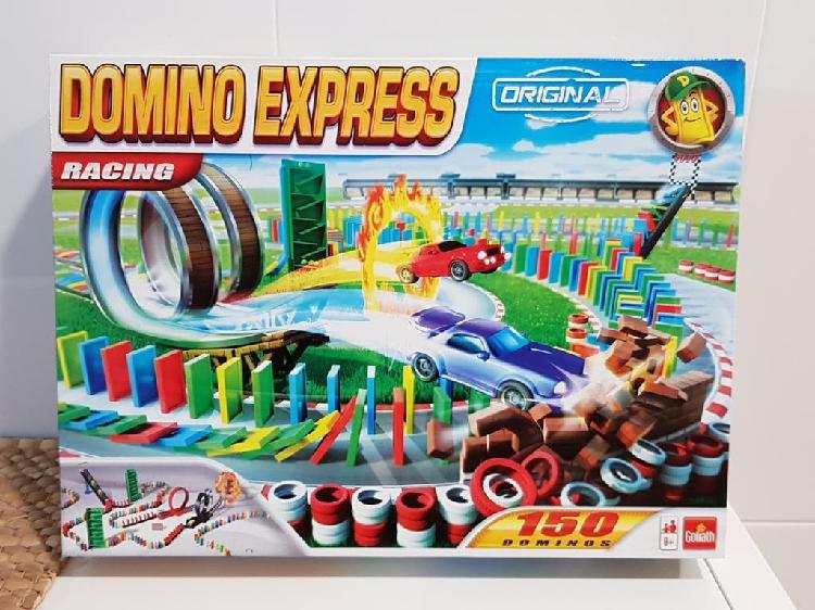 Juego racing fichas domino