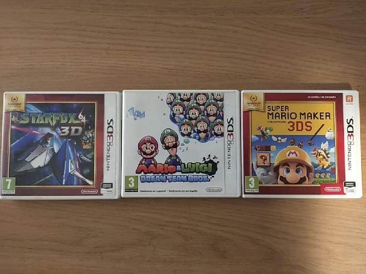 Juegos 3ds 2ds