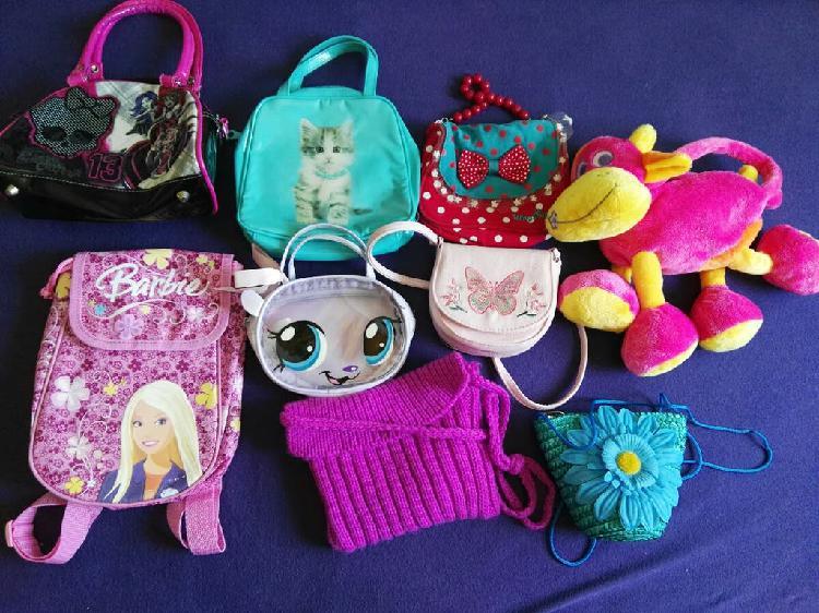 Lote bolsos niña