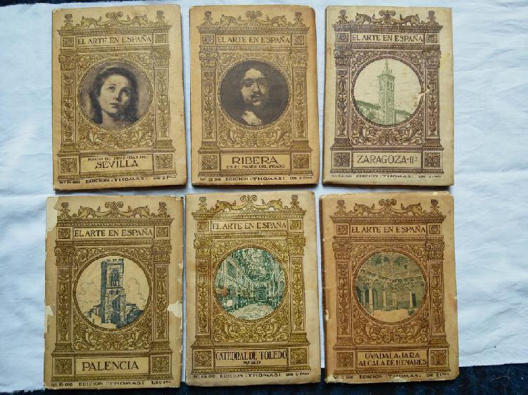 Mini libros arte en españa 1913
